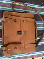Genuine Leather Satchel