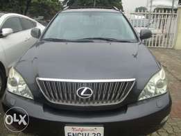 Foreign used 2005 Lexus rx350 black