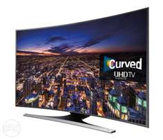 "Samsung UE65JU6500 Smart Ultra HD 4K 65"" Curved TV with Voice Control"