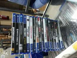 New games ps4