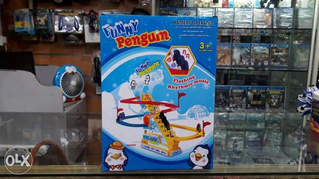 new funny penguin for kids games for sell