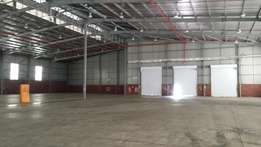 5536m2 A-Grade Warehouse Durban( 5km from Port)