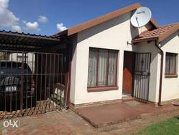 2 Bedroom house available for rental