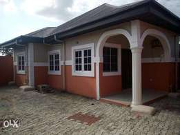 BRAND NEW! Standard 3 Bedroom detached bungalow at Gbalajam,alcon,woji