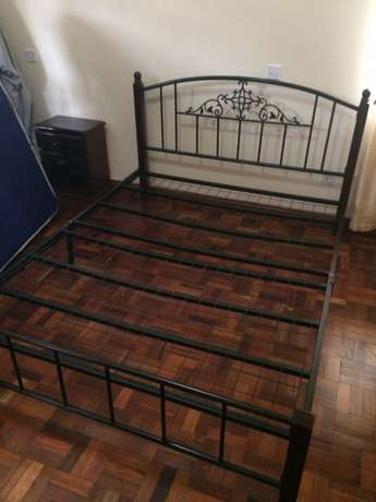 King size bed with matress Woodly - image 3