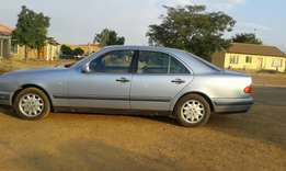 Mercedes-Benz E230.. in good condition with papers