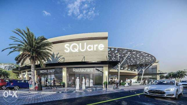 Commercial Shops for Rent in SQUare near Sultan Qaboos University!