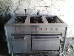 Stainless steel cooking equipment