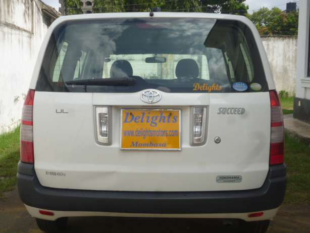 Toyota Succeed, White in Color, 2010 Model for Sale! Mombasa Island - image 2