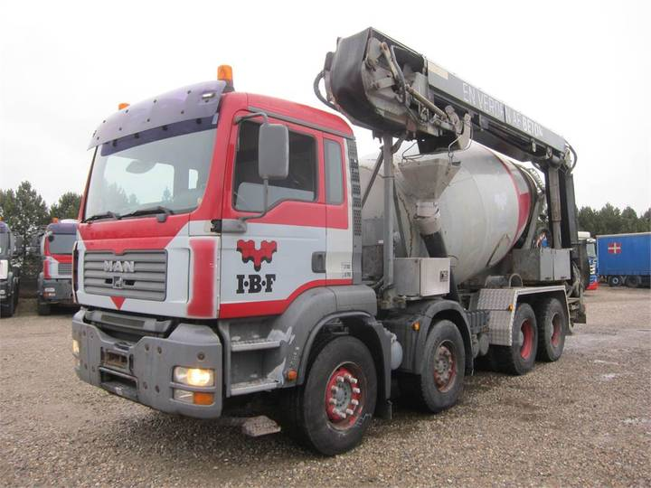 MAN Tga 35.390 8x4 Stetter 9m3 + Theam 14m+4m - 2006