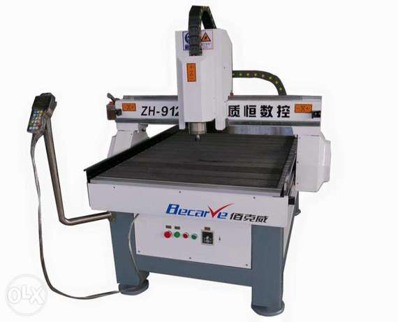 Cmc router machine for no metal or metal material