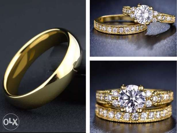 Exquisite His & Hers Wedding Rings Set Port-Harcourt - image 1