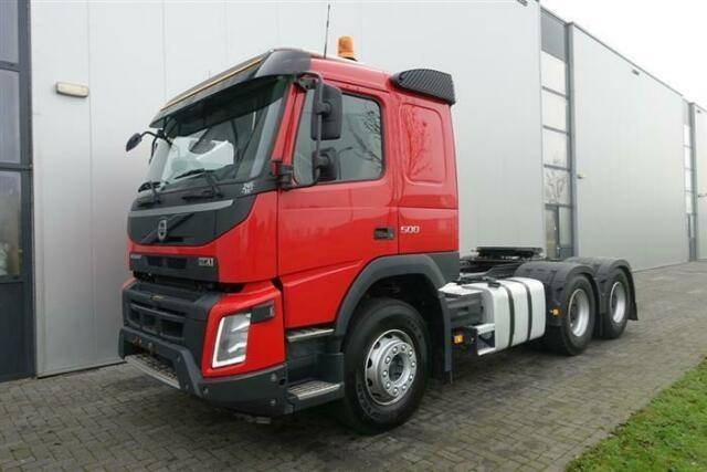 Volvo FMX500 6X4 EURO 6 79.000 KM MANUAL HUB REDUCTION - 2016