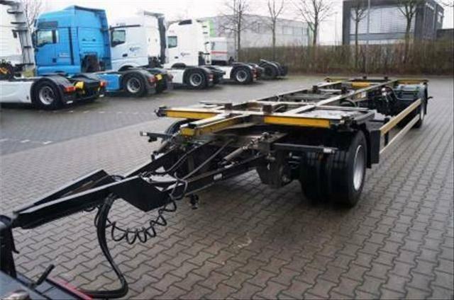Schmitz Cargobull 2 Achs Jumbo Lafette - 2014