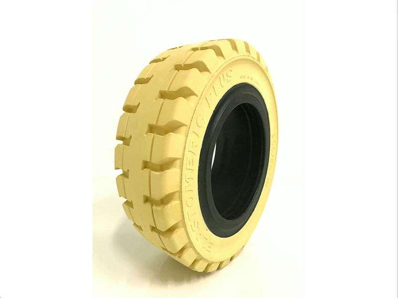 Elastomeric Plus Estándar Blanco Forklift Tyre - 2018