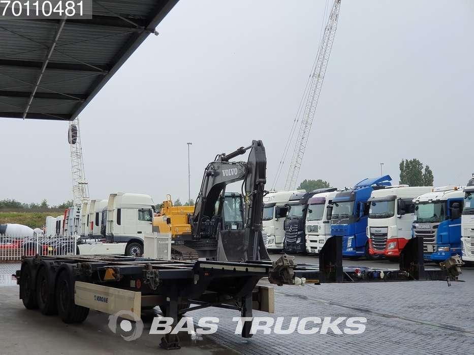Krone 2x20-1x30-1x40ft. 3 axles Ausziehbar Extending Chassis - 2012 - image 13