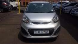 2013 Sliver Kia Picanto 1.2 Auto for sale