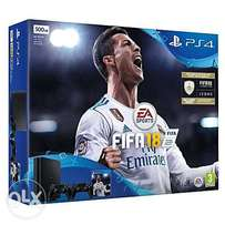 PS4 500GB With FIFA 18 Ultimate Team Icons And Rare Player Pack