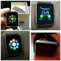 New silver watch phone