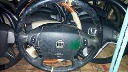 Steering airbag crown