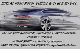 Mobile Mechanical Services & Dent Repairs