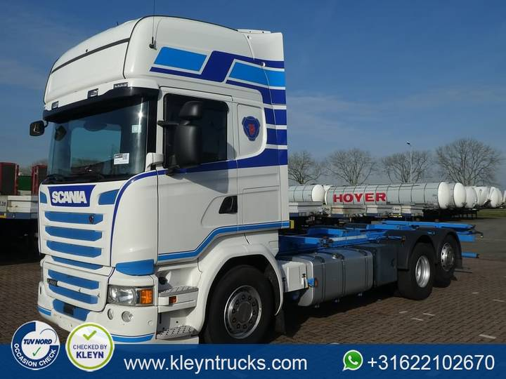 Scania R450 tl 6x2*4  only - 2015