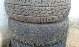 80% treads tires size r16
