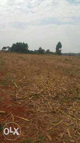 17 acres at maili nne with title 2.6km from tarmac Eldoret North - image 1