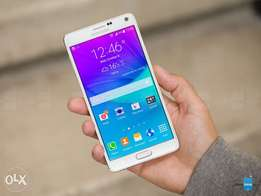 Cleqn Samsung Note 4, 16mp can,4gb ram