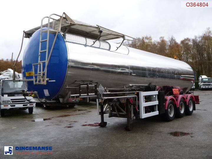 Clayton Bitumen tank inox 33 m3 / 1 comp + compressor - 2004