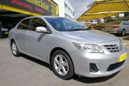 2011 Toyota Corolla 1.6 Advanced, 137000km FSH, R149,995