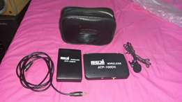 AHUJA Wireless microphone set or voice booster