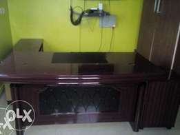 JT Office Brand New Executive Exotic Table 1.6m