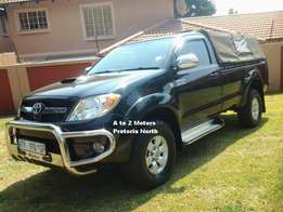 2008 Toyota Hilux 3.0 D4D Raider RB P/U S/C with 283607 km's