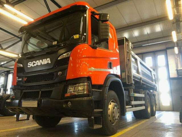 Scania P410 6x4 EURO6 DSK mit Bordmatik DEMO TOP! - 2019 zum Verkauf