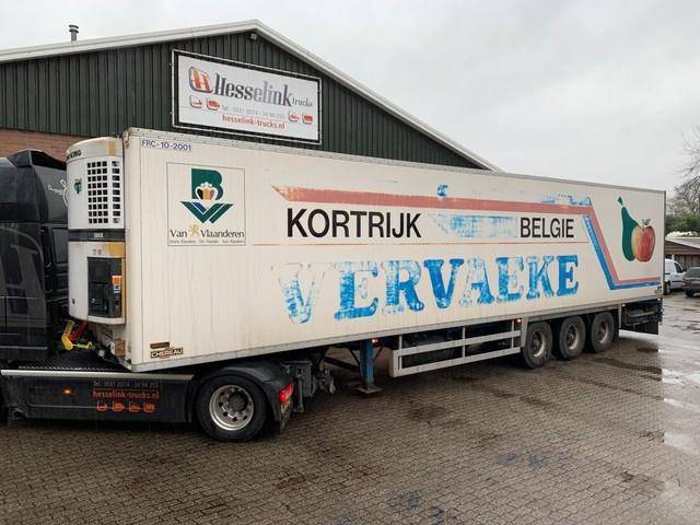 Chereau Kuhlauflieger Thermo King SLX, BPW, Full chassis - 1996