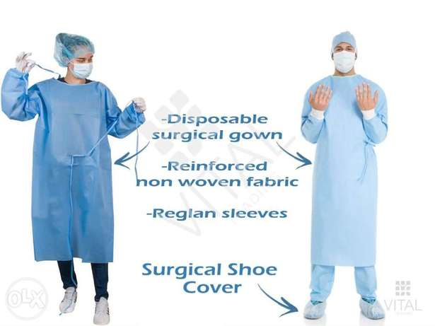Disposable Medical Gown مريول طبي