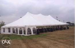 200 capacity tent for sale
