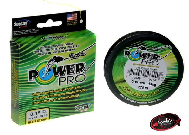 Yellow Power Pro 275m 0,19mm 13kg M