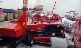 Kuhn double row forage harvester