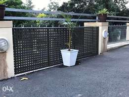 Trellises for fencing and screening