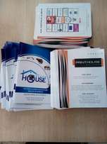 Flyers , brochures and posters