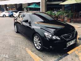 2010 Toyota mark x sport package with sunroof