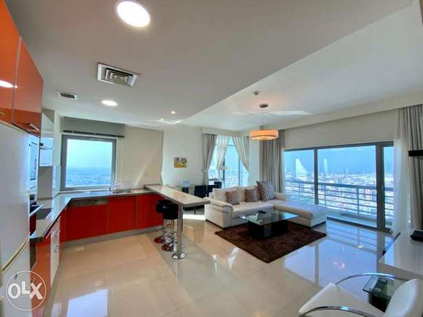 Great view 1BR apartment for rent/balcony/internet/maid/Electricity