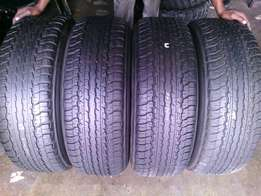 235/70/R17 on special for sale tyres in a good condition