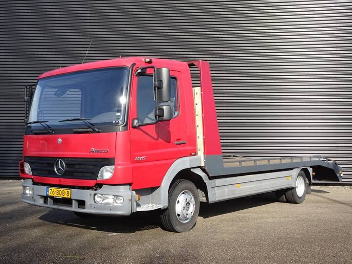 Mercedes-Benz ATEGO 815 / MACHINE / CAR / TRANSPORTER - 2006