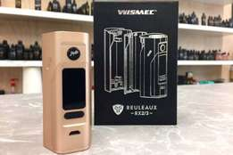 Wismec Reuleaux RX2/3 Gold limited edition with New Avocado RDTA Tank