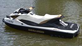 2013 Sea-Doo GTX Limited IS 260 with Fishing Pontoons.