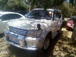 Toyota Prado, petrol, Original paint(with sunroof)