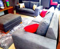 New 6 Seater Sofa Chair with divine center table 4 sale.